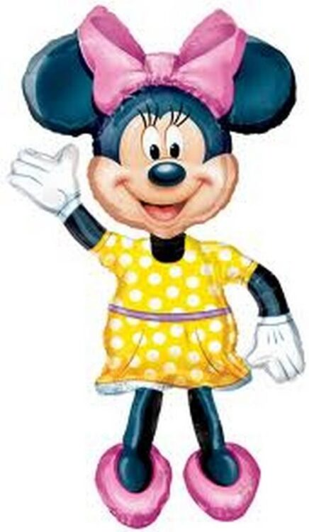 Palloncino altezza bimba Minnie