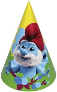 Cappellini festa Puffi