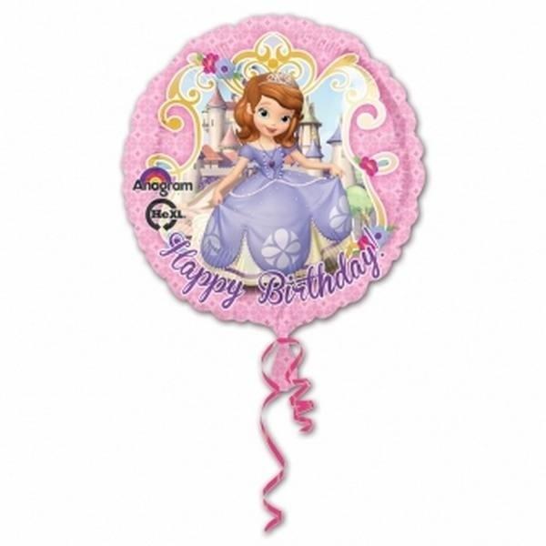 Palloncino Happy Birthday Sofia la Principessa
