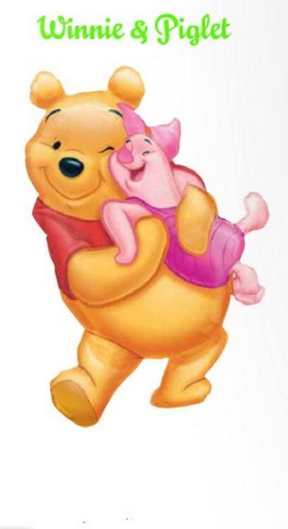 Palloncino abbraccio Winnie The Pooh