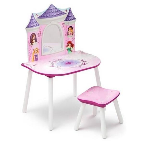 Set sgabello e toeletta Principesse Disney Castello