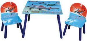 Set tavolo e 2 sedie Disney Planes