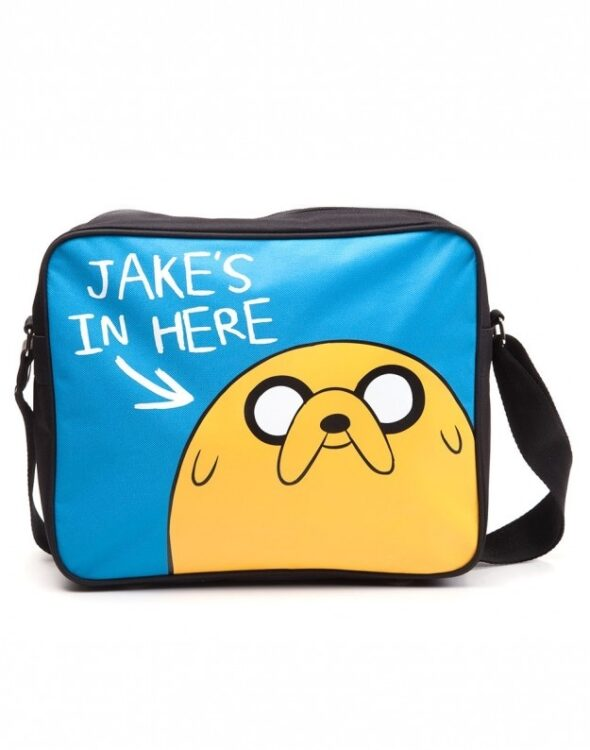 "Borsa Adventure Time ""Jake's in here"""