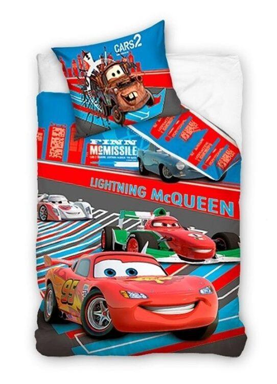 Parure copripiumino lettino con sponde Disney Cars