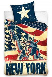 Parure copripiumino singolo New York Liberty Statue