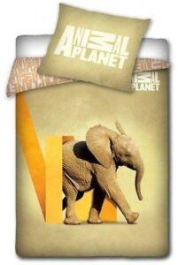 Parure Copripiumino Singolo Animal Planet Elefante