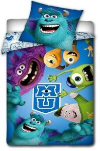 Parure copripiumino singolo Monster University