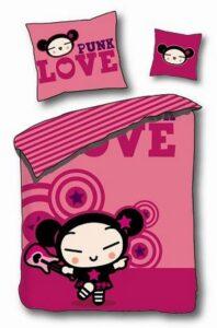 Parure Copripiumino Singolo Pucca Love
