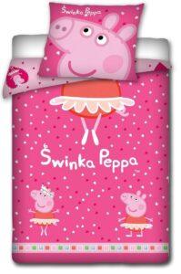 Parure Copripiumino Singolo Peppa Pig Ballerina