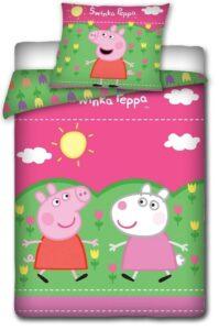 Parure Copripiumino Singolo Peppa Pig e Suzy