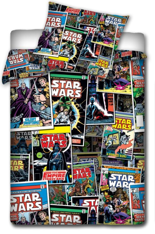 Parure Copripiumino Singolo Star Wars Tabloid