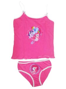 Set 2 pezzi intimo My Little Pony