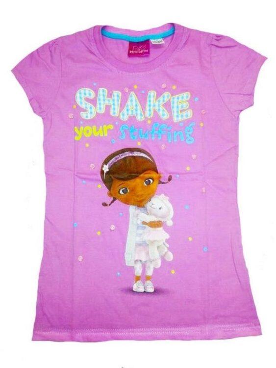 T-Shirt Dottoressa Peluche 'Shake your Stuffing'