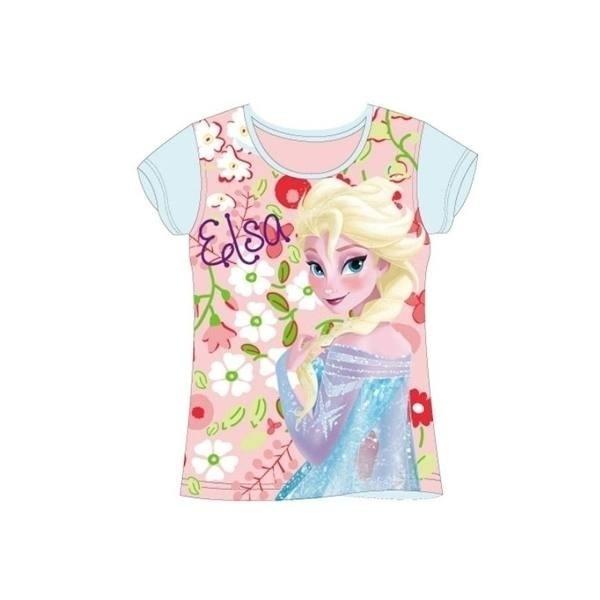 T-Shirt Elsa Disney Frozen Fiori