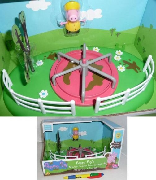 "Playset Peppa Pig al Parco Giochi ""Girello"""