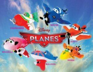Confezione 6 personaggi Disney Planes