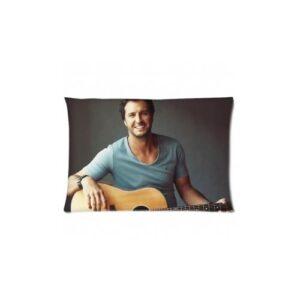 Federa cuscino 76x56cm Luke Bryan Playing The Guitar