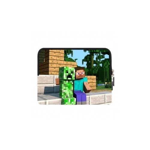 Borsa iPad mini Minecraft Creeper and Steve