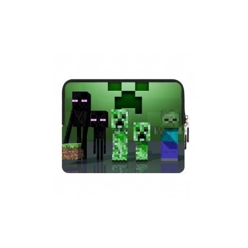 Borsa iPad mini Minecraft Creeper and Enderman