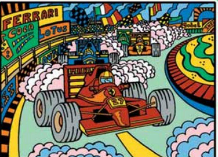 Tavola Colorvelvet Formula Uno Medium
