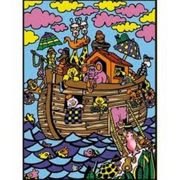 Tavola Colorvelvet Arca di Noè Large