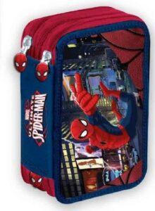 Astuccio 3 cerniere completo Spider Man