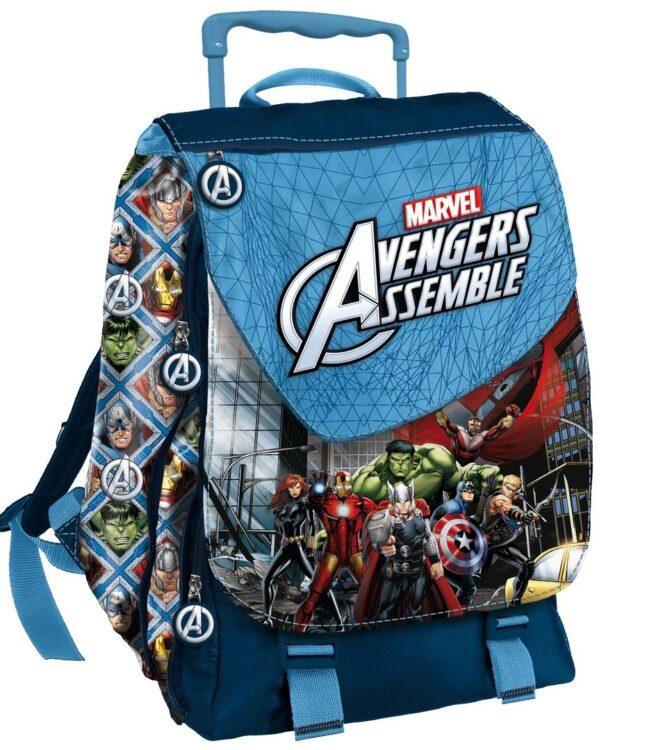Zaino estensibile con trolley Marvel Avengers
