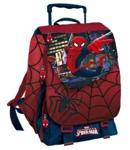 Zaino estensibile con trolley Spider Man