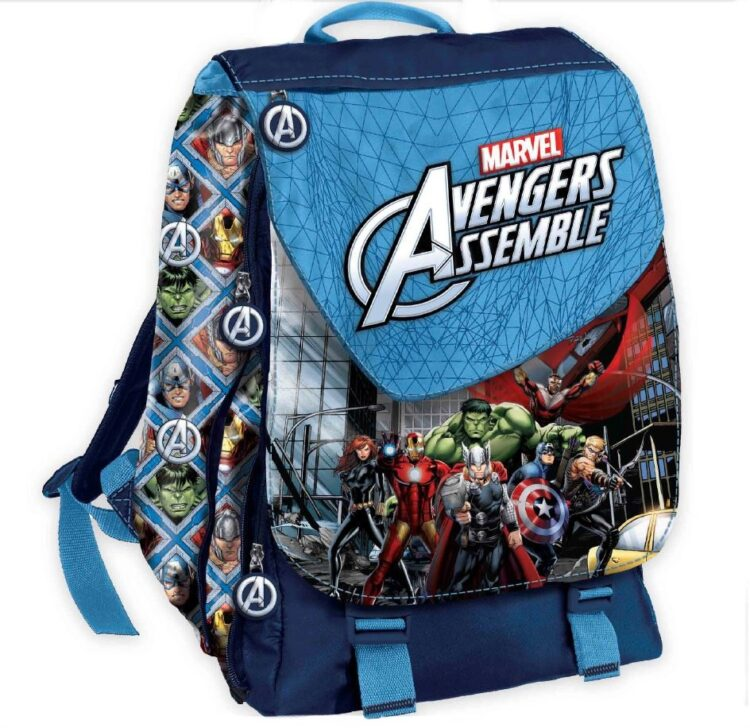 Zaino elementari estensibile Marvel Avengers