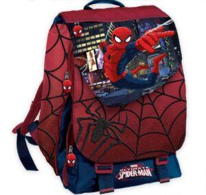 Zaino elementari estensibile Spider Man