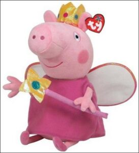 Peluche Peppa Pig Fatina dei Denti 30 cm TY