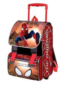 Zaino Trolley elementari Amazing Spiderman 2