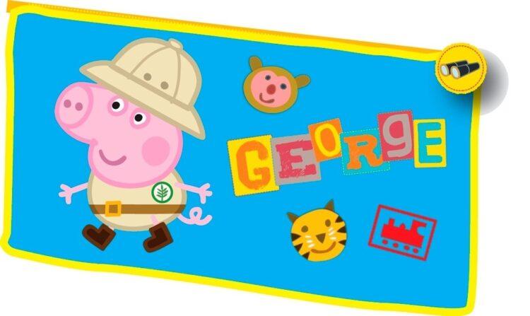 Astuccio portatutto George Mission