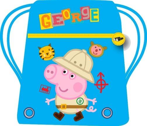 Sacca sport George Mission Peppa Pig