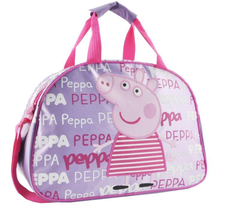 Borsone Sport Peppa Pig Rocks