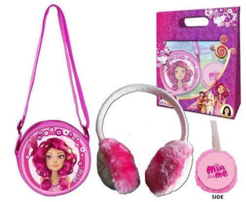 Set regalo borsetta e paraorecchie Mia and Me