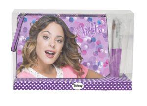 Pochette con pennelli Violetta Disney