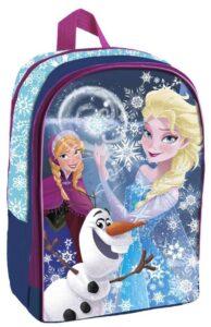 Zaino asilo medio Disney Frozen Blu