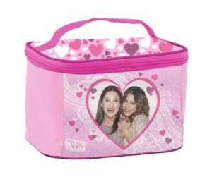 Beauty case Violetta Heart