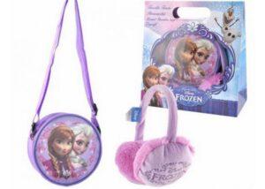 Set regalo borsetta e paraorecchie Disney Frozen