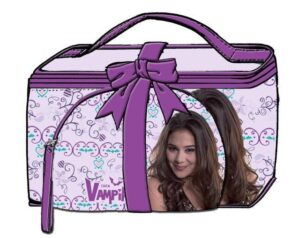 Set regalo Beauty Case più Pochette Chica Vampiro