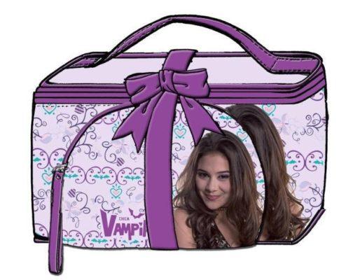 Set regalo Beauty Case più Pochette Chica Vampiro