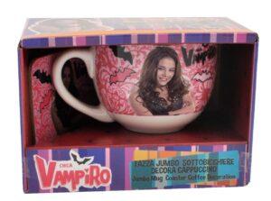 Set colazione tazza e sottotazza Chica Vampiro