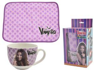 Set colazione tovaglietta più tazza Chica Vampiro
