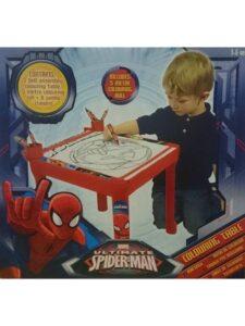 Tavolino piccolo artista Ultimate Spiderman