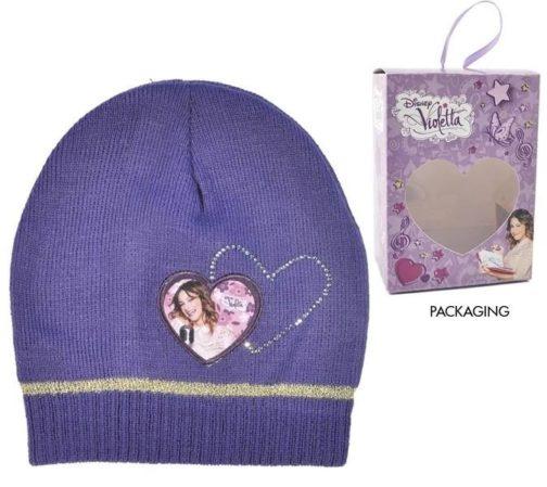Cappello Violetta Cuore