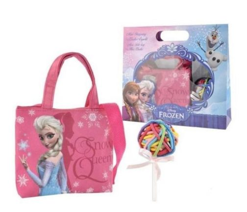 Borsa Shopping con elastici Disney Frozen