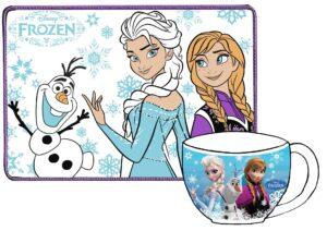 Set colazione tovaglietta più tazza Disney Frozen