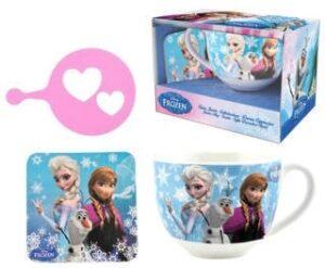 Set colazione tazza e sottotazza Frozen