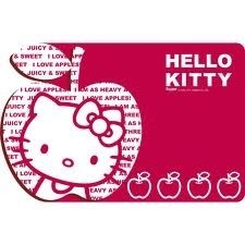 Tovaglietta in plastica Hello Kitty Apple